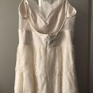 BCBG White Lace Dress